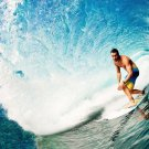 Surfer Art 32x24 Poster Decor