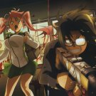 High School Of The Dead Animation Art 32x24 Poster Decor