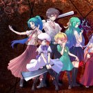 Higurashi No Naku Koro Ni Anime Art 32x24 Poster Decor
