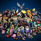 Super Smash Bros Brawl Game Art 32x24 Poster Decor