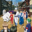 Gintama Anime Art 32x24 Poster Decor