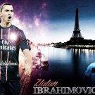 Zlatan Ibrahimovic Football Star Art 32x24 Poster Decor