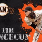 Tim Lincecum Baseball Players Art 32x24 Poster Decor