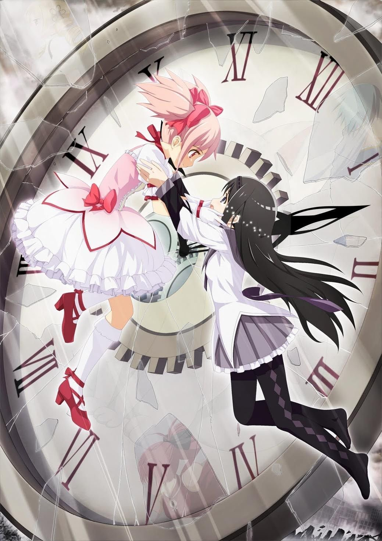 Puella Magi Madoka Magica Anime Art 32x24 Poster Decor