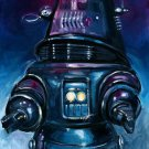 Painting Robby Robot Planet Space Art 32x24 Poster Decor