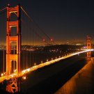 Golden Gate Bridge Art 32x24 Poster Decor
