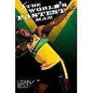 Usain Bolt Athletes Art 32x24 Poster Decor
