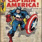 Marvel Vintage Cover Captain Art 32x24 Poster Decor