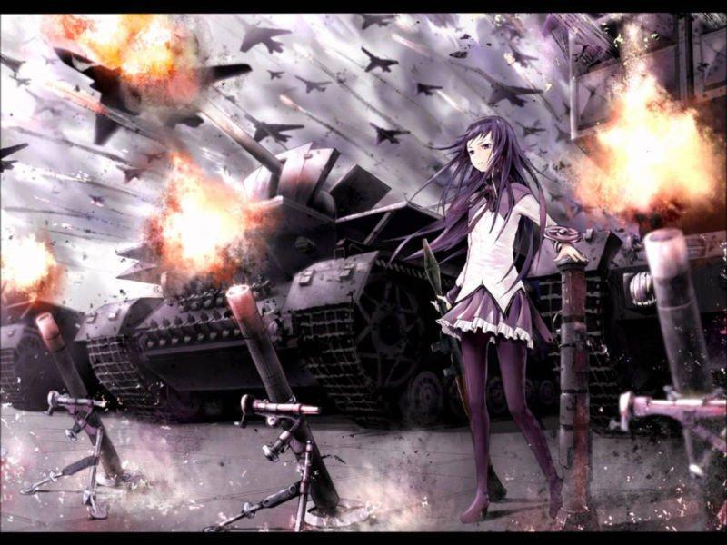 Puella Magi Madoka Magica Anima Art 32x24 Poster Decor