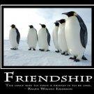 Penguins Leadership Motivational Art 32x24 Poster Decor