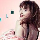 Dakota Johnson Actor Star Art 32x24 Poster Decor