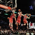 Blake Griffin Basketball Star Art 32x24 Poster Decor