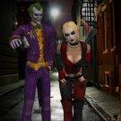 Arkham The Joker Harley Quinn Art 32x24 Poster Decor