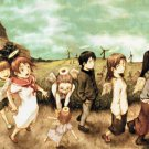 Haibane Renmei Anime Art 32x24 Poster Decor