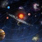 The Solar System Space Universe Art 32x24 Poster Decor