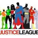 Justice League Movie Anime Art 32x24 Poster Decor