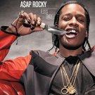 Asap Rocky Music Star Art 32x24 Poster Decor