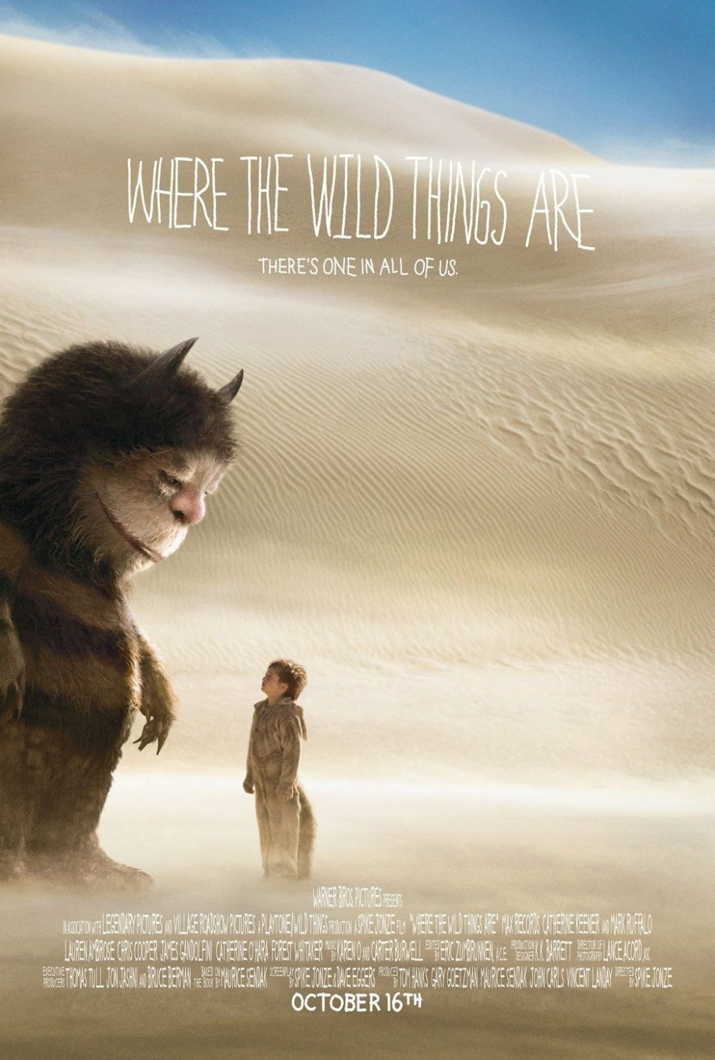 Where The Wild Things Are Movie 32x24 Poster Decor