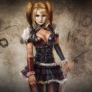 Harley Quinn Batman Arkham City Art 32x24 Poster Decor