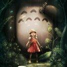 My Neighbor Totoro Animation Art 32x24 Poster Decor