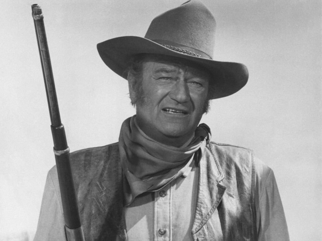John Wayne Movie Actor Star Art 32x24 Poster Decor