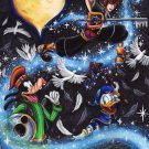 Kingdom Hearts Boy 1 2 Game Art 32x24 Poster Decor