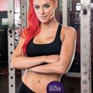 Eva Marie Fitness Motivational Art 32x24 Poster Decor