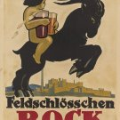 BOCK Vintage Ad Art 32x24 Poster Decor