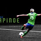 Megan Rapinoe Football Star Art 32x24 Poster Decor