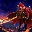 Shakugan No Shana Anime Art 32x24 Poster Decor
