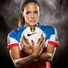 Sydney Leroux Football Star Art 32x24 Poster Decor
