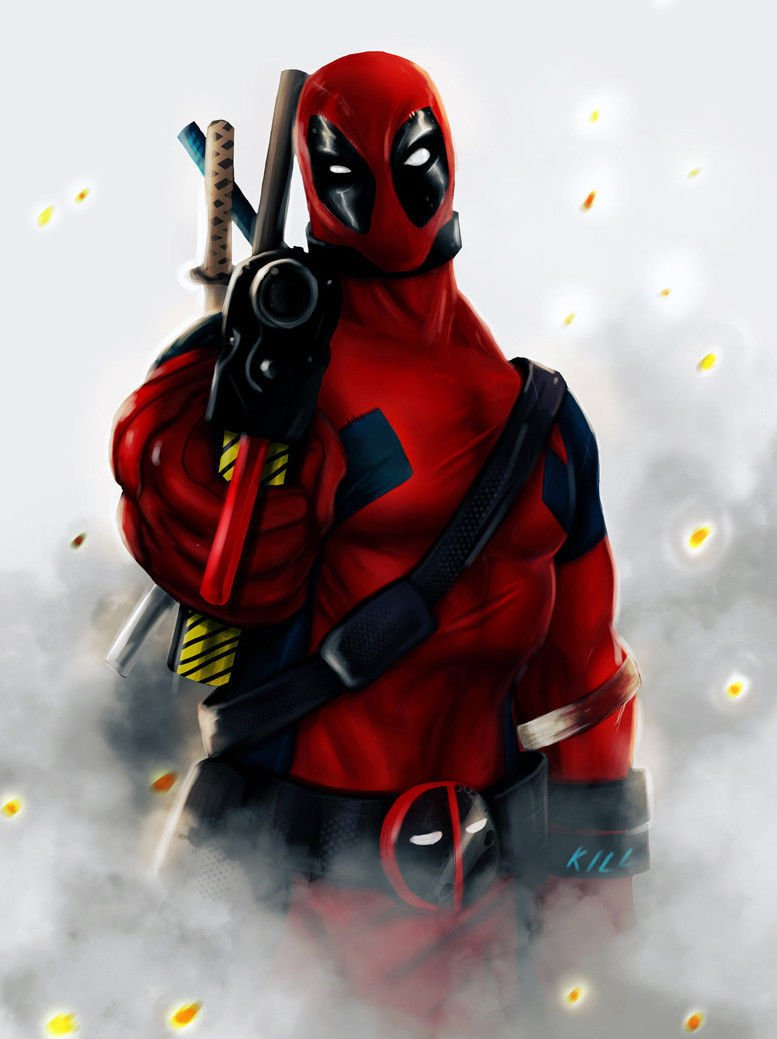 Deadpool Movie Art 32x24 Poster Decor