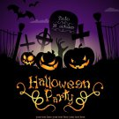 Halloween Art 32x24 Poster Decor