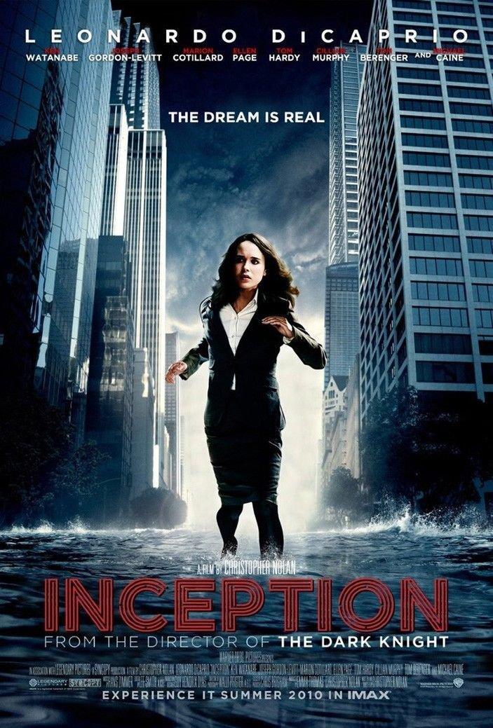 Inception Leonardo Dicaprio Movie Art 32x24 Poster Decor
