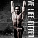 Rich Froning Jr Crossfit Champion Art 32x24 Poster Decor
