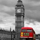 London England Big Ben Art 32x24 Poster Decor