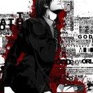 Death Note Cartoon Art 32x24 Poster Decor