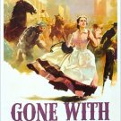 Vintage Gone With The Wind Movie Art 32x24 Poster Decor