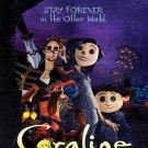 Coraline Movie Art 32x24 Poster Decor