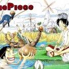 One Piece Luffy Japan Anime Art 32x24 Poster Decor