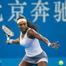 Serena Williams Tennis Player Art 32x24 Poster Decor