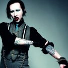 Marilyn Manson Music Band Group Art 32x24 Poster Decor