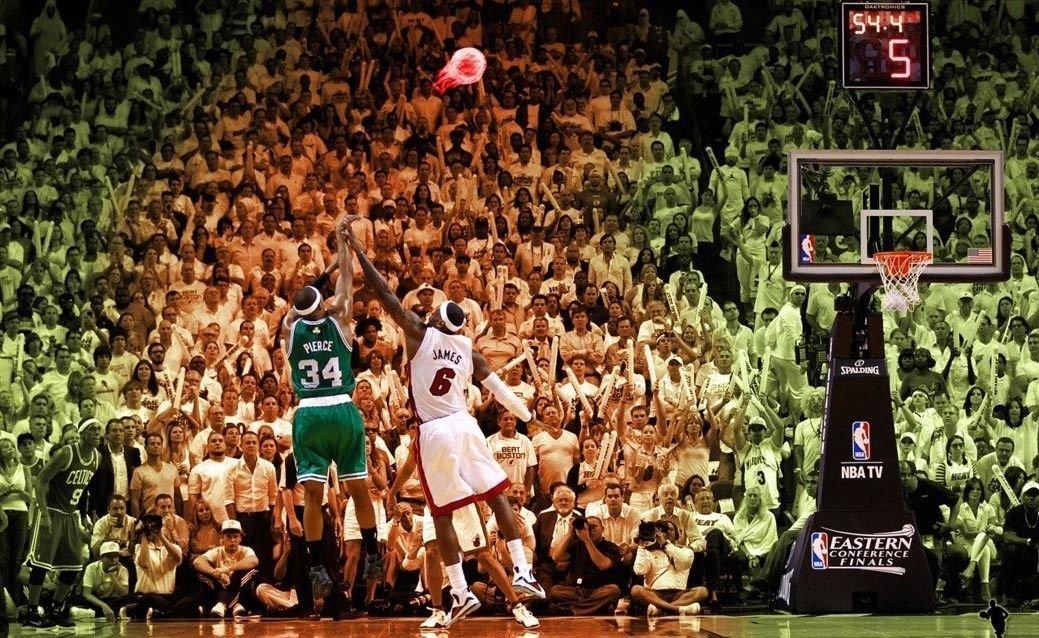 Paul Pierce Basketball Star Art 32x24 Poster Decor