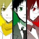 Durarara TV Anime Art 32x24 Poster Decor