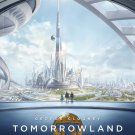Tomorrowland 2015 Movie Art 32x24 Poster Decor