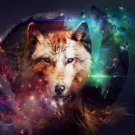 Wolf Highlands Wild Nature Animals Art 32x24 Poster Decor