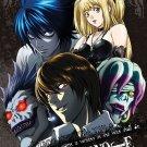 Death Note Cartoon Art 32x24 Poster Decor