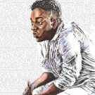 Kendrick Lamar Rap Singer Art 32x24 Poster Decor