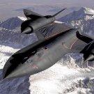 SR 71 Blackbird Reconnaissance Aircraft Art 32x24 Poster Decor