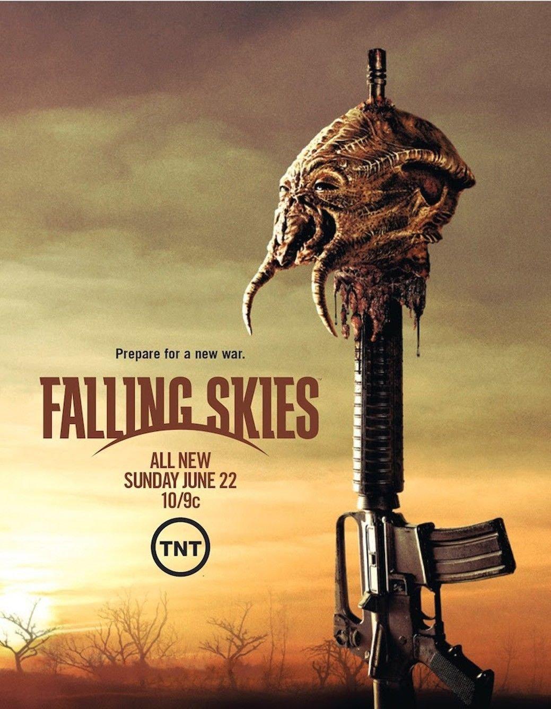 Falling Skies TV Show Art 32x24 Poster Decor